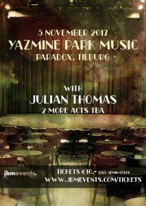 Yazmine Park Music @ Paradox | Tilburg | Noord-Brabant | Nederland